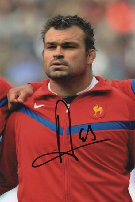 Nicolas Mas, France, Montpellier, signed 6x4 inch photo.